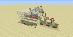 Iron Golem Generator Farm (With delay switch) Minecraft