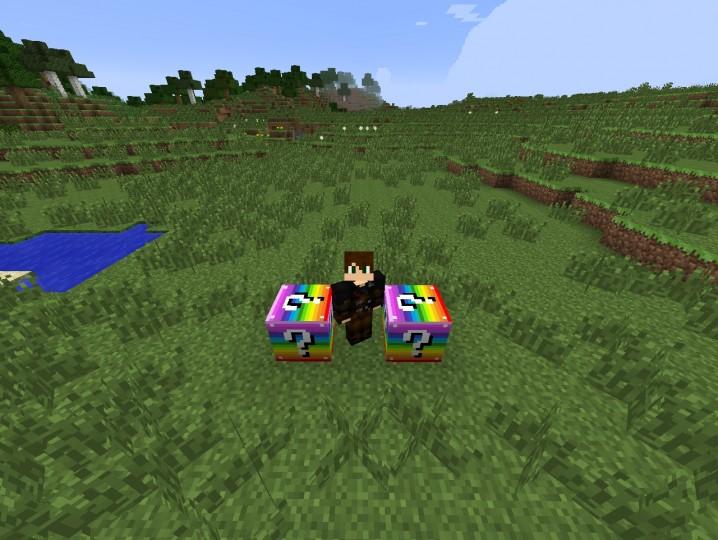 2015 02 08 1211458620668 [1.7.10] Rainbow Lucky Block Mod