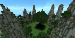 Terraforming | mountains and giant tree Minecraft