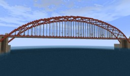 West River Arch Bridge | BwC Minecraft Map & Project