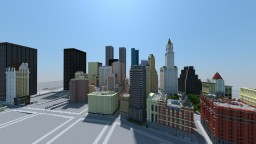 New York in Minecraft 2010's by aBitterMelon