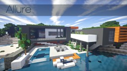 Allure | contemporary home Minecraft Map & Project