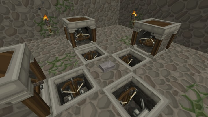 Advanced 3D Model for Dispensers - requires PureBDcraft Addon More 3D Blocks