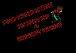 FrenchieNinjas Photoshop/Minecraft Render Display|New Content weekly|Linked Tutorials| Minecraft Blog Post