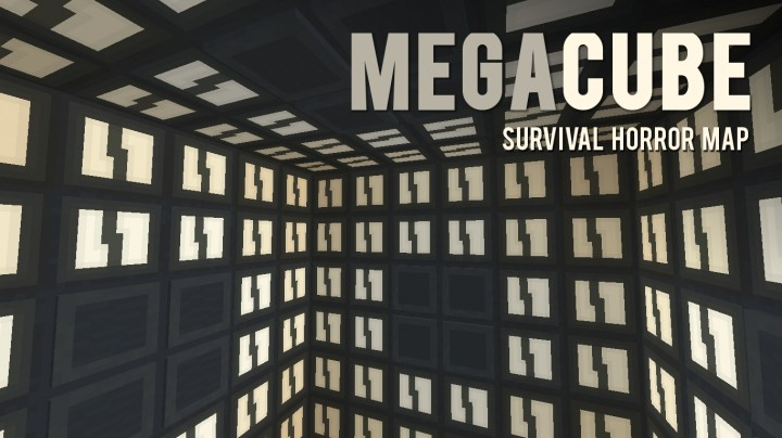 Projection Mapping Cubes Mega Cube Survival Horror Map