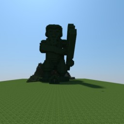 The Dwarf statue Minecraft