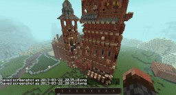 The Red Castle Minecraft Map & Project