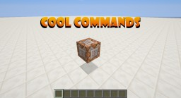 Cool Commands Minecraft