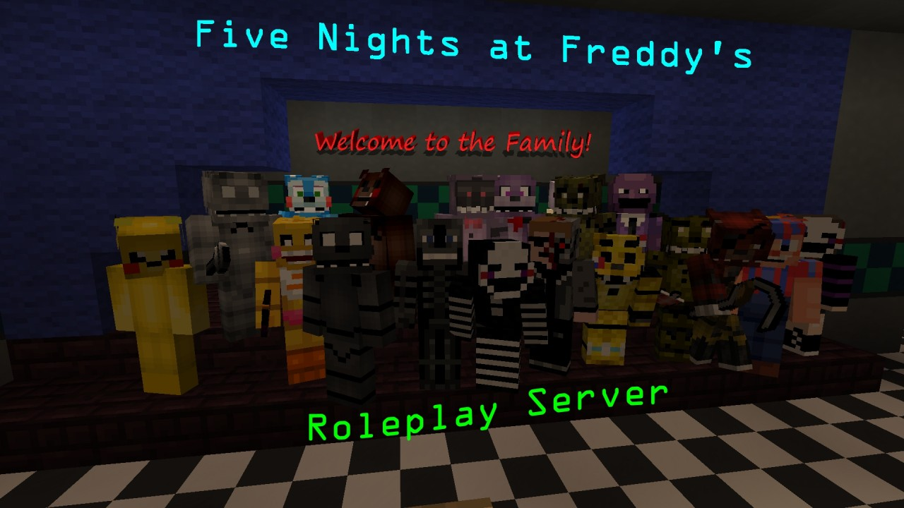 Fnaf roleplay town roleplay fnaf mcpro co minecraft server