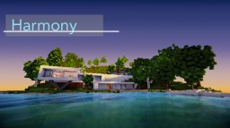 [Pop Reel] Harmony - A Modern Island House Minecraft Map & Project