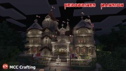 Herobrines Mansion PS3/PS4/CONSOLE Minecraft Map & Project