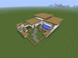 Modern house???? Minecraft Map & Project
