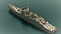 USS Destroyer Minecraft