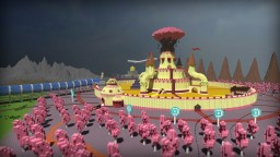 Land of Ooo from Adventure Time Minecraft Project