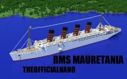 RMS Mauretania Minecraft