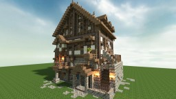 Medieval Project #1:Tavern Minecraft Map & Project