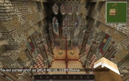 Great Hall (Casterly Rock Inspired) Minecraft Project
