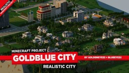 GoldenBlue City | TMB | WIP Minecraft Map & Project