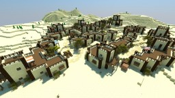 Desert Village | Mosīl Kōtkay [DOWNLOAD] Minecraft Map & Project
