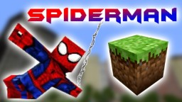 Spiderman in Vanilla Minecraft Minecraft