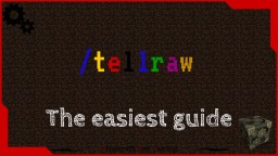 Easiest way to tellraw in minecraft. Minecraft Blog Post