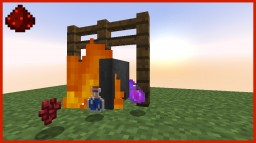 Auto Brewing Cauldron w/ Fire [Redstone] Minecraft Map & Project