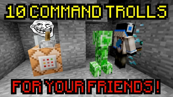 COMMANDS TO TROLL YOUR FRIENDS WITHOUT SUSPICION DOWNLOAD - Minecraft spieler teleportieren befehl