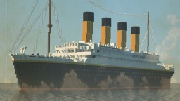 Titanic (1:1 scale) Minecraft