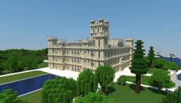 Highclere Castle [Downton Abbey], Highclere (United Kingdom) Minecraft Project