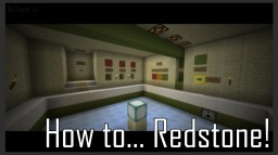 [EN] [CZ] How to... Redstone! Minecraft Project