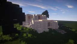 Modern House-Sandstone Minecraft Map & Project