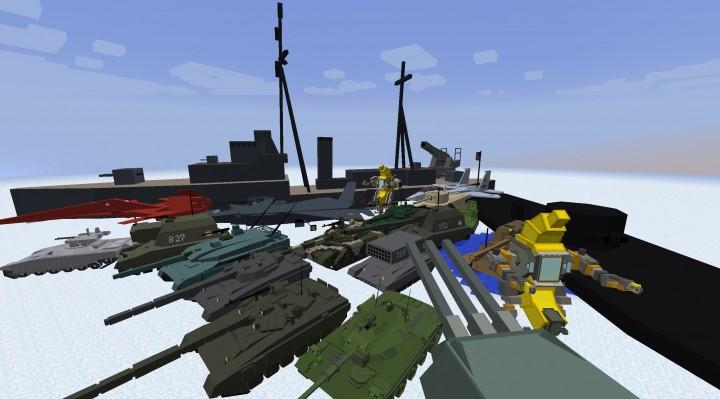 Скачать бесплатно Flan's - мод на оружие для Minecraft 1.7 ...