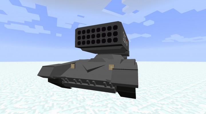 TOS-1A Multiple Rocket Launcher