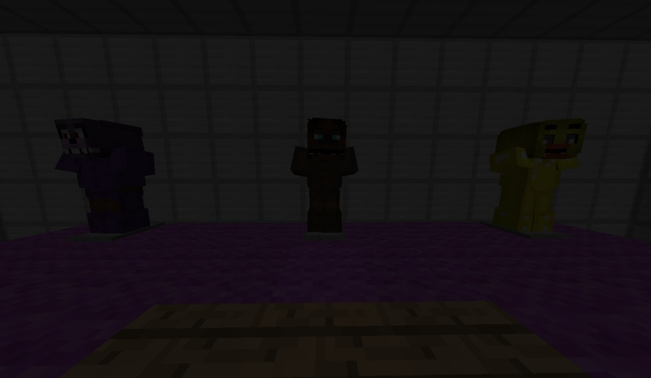 Fnaf 1 Multiplayer with CAMERAS! Minecraft Project