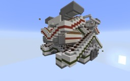 Two level Minecart Realistic Station Minecraft