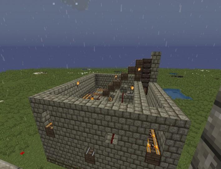how to build a pez dispenser minecraft