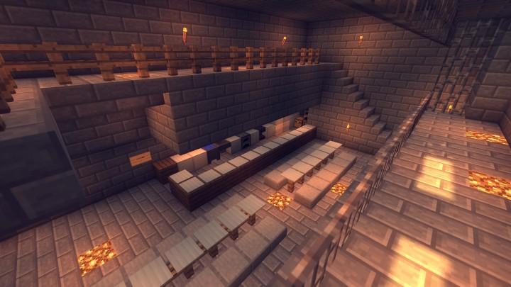 1 7 2 Prisonbreak Vanilla Multiplayer Game Minecraft