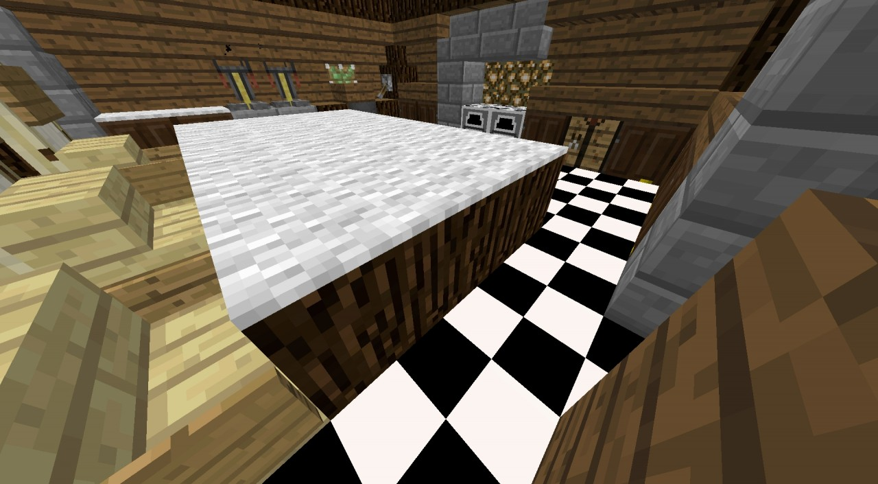 Minecraft kitchen ideas minecraft project for Kitchen ideas minecraft