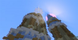 Erinia the elven citadel Minecraft Map & Project