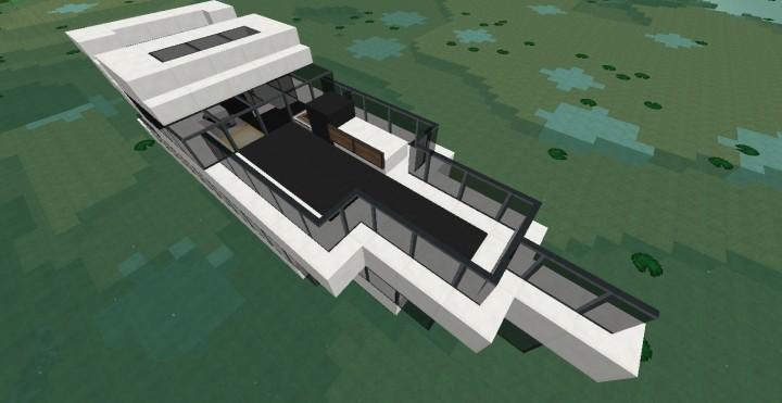 Bateau de luxe minecraft project - Interieur bateau de luxe ...