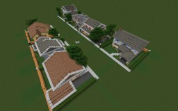 50's style houses (Bundle) Minecraft Map & Project