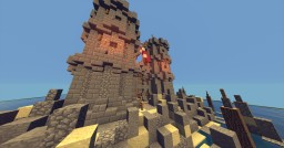 Little Island Castle || Old Builds || by Kristof Minecraft Project