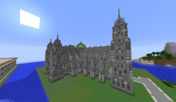 Minecraft Cathedral Minecraft Project