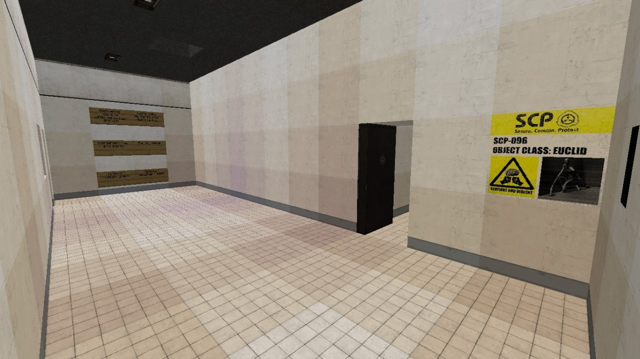 SCP - Containment Breach DEMO Map official 1 8 Minecraft Project