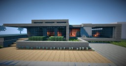 Hisseki - Realistic Modern House Minecraft Map & Project