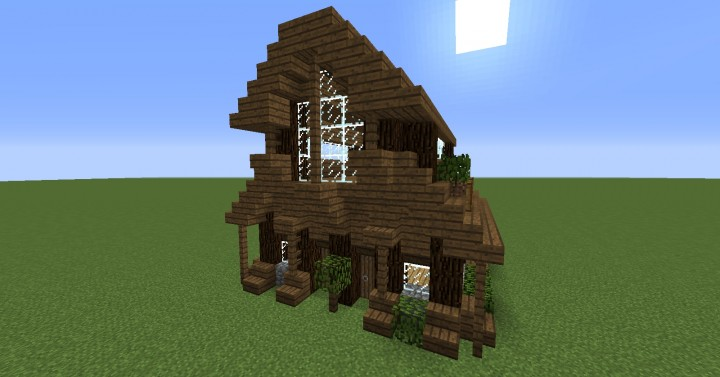 Spruce House Minecraft Project