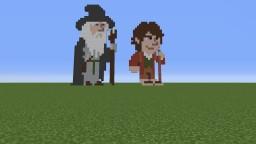 Bilbo and Gandalf: potingsoil