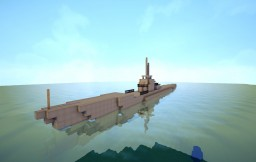 Gato Class Submarine With Full Interiors+Working Engine Minecraft
