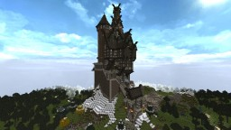 Skyrim-Inspired Castle Minecraft Map & Project