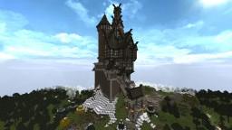 Skyrim-Inspired Castle Minecraft